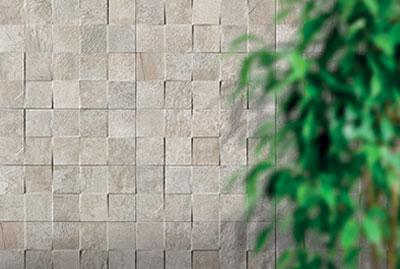 Sichenia Pave Wall Square Bianco